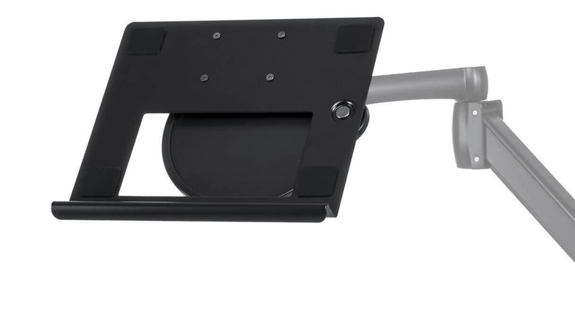 Stabilize and secure your laptop with the UPLIFT Laptop Mount for Monitor Arms