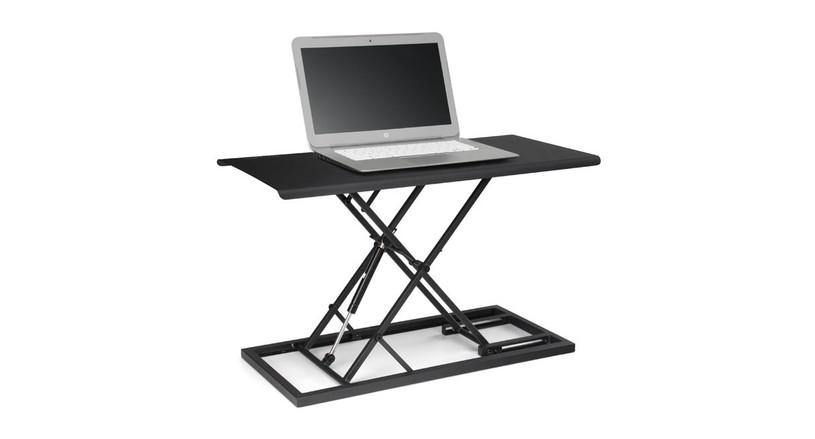 E3 Compact Standing Desk Converter by UPLIFT Desk