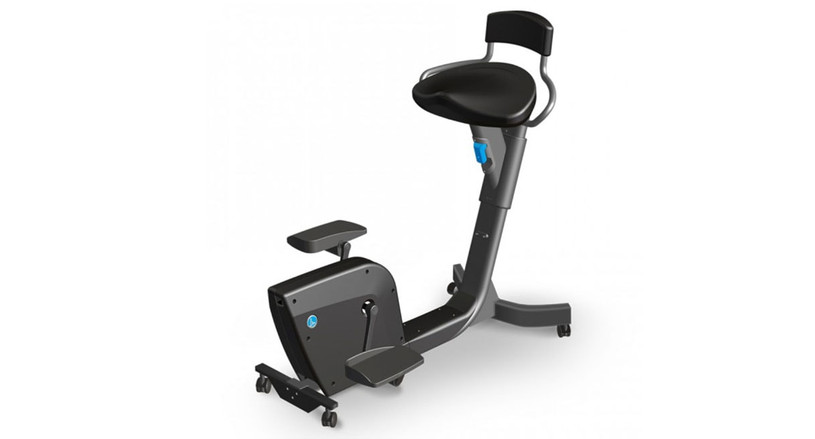 The LifeSpan Solo Under Desk Bike allows you to move more and burn more calories while you work