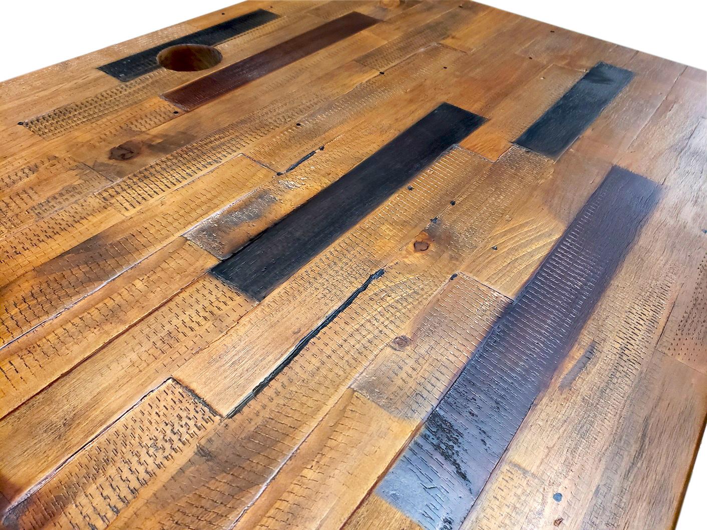 Uplift V2 Reclaimed Wood Standing Desk 1 Desk Uplift Desk