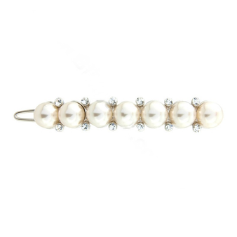 Luxe Crystal & Pearl Clip