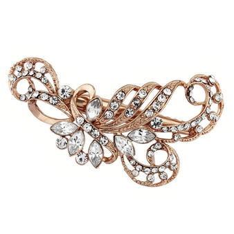 Enchanting Beauty Hair Clip - Rose Gold