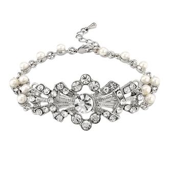 Gatsby Glam Bracelet - Silver