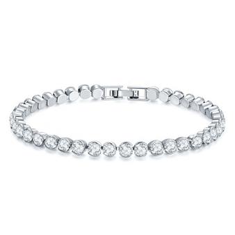 Cubic Zirconia Collection - Classic Tennis Bracelet