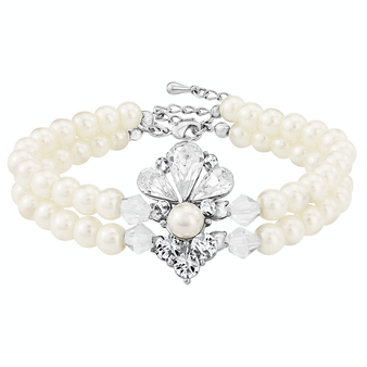 Exquisite Starlet Pearl Bracelet