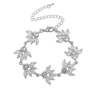 Gatsby Glitz Bracelet - Silver