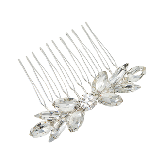 Dainty Devine Hair Comb- Silver