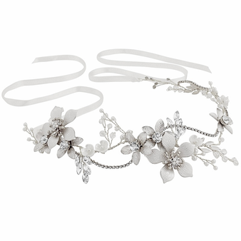 Exquisite Romance Vine - (HP147) Silver