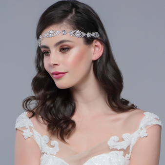 STARLET GLAM HEADPIECE - SILVER