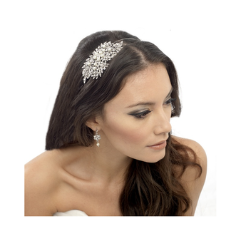 ELITE COLLECTION - CLASSIC EXTRAVAGANCE PEARL HEADBAND - PEARLS (HB364)
