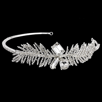 Eleanor Feather Headband - HDB8