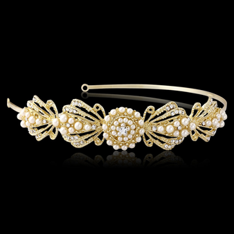 Estelle Chic Headband - HDB19 Gold