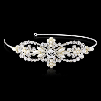 Bella Chic Pearl Headband - HDB20