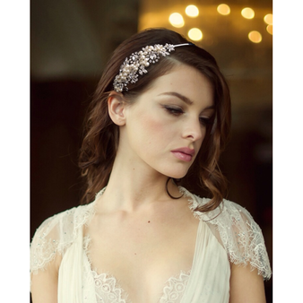 Sofia Luxe Pearl Headband - HDB22