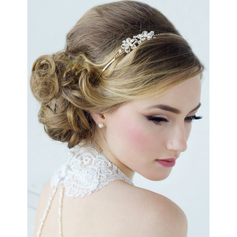 Aimee Sweet Vintage Headband Collection - Silver & Gold