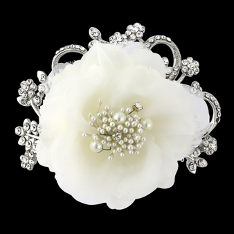 Elite Collection - Vintage Flower Headpiece (CLIP D)