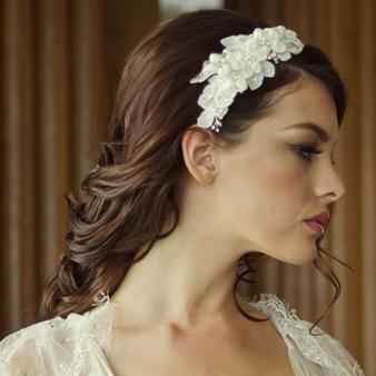 Grace Headband HDB4 (Rose Gold)
