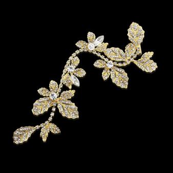Elite Collection - Opulence Wedding Hair Vine - HP130 Gold
