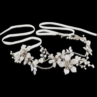 Exquisite Romance Vine - HP147 Silver