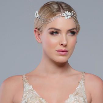 Jessy - Crystal Extravagance Headpiece
