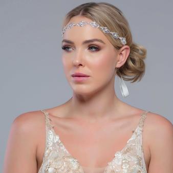 Celine - Crystal Chic Headpiece