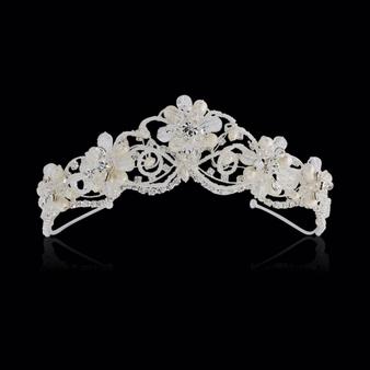 Adelina - Exquisite Treasure Tiara - Silver