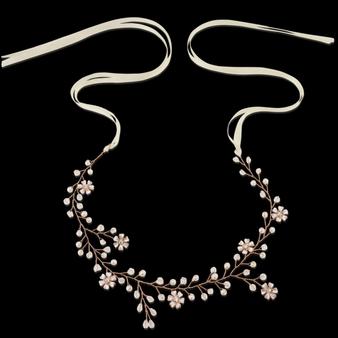 Floral Romance Hair Vine - HP135 Rose Gold