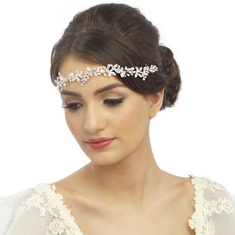 Luxe Embellished Hair Vine -14K Gold Plated