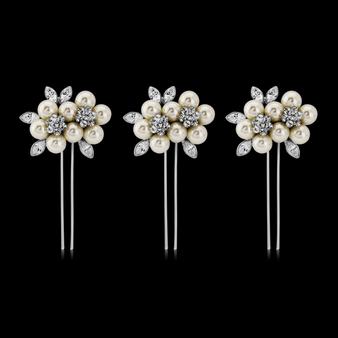Elite Collection - Luxe Pearl Hair Pins