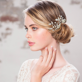 Floral Cluster Hair Pin