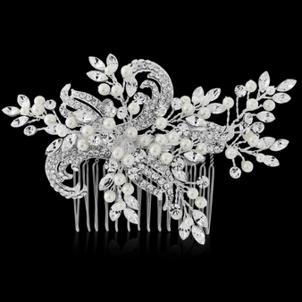 Clarice - Freshwater Pearl Luxe Comb