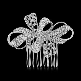 Vintage Glam Crystal Hair Comb