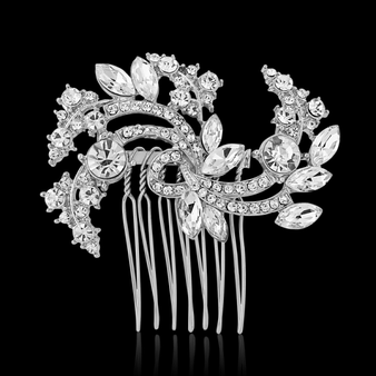 Chic Crystal Hair Comb