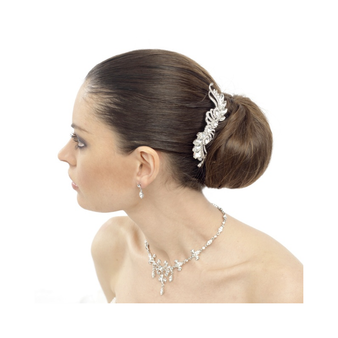 Vintage Chic Crystal Bridal Hair Comb