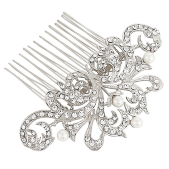 Pearl Luxe Hair Comb
