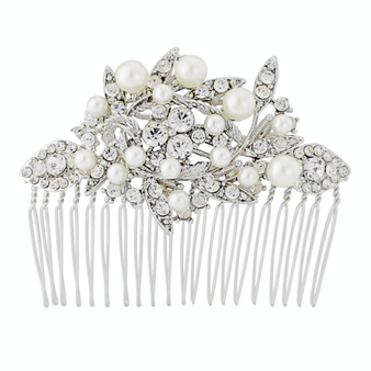 Pearl Shimmer Hair Comb