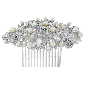 Charming Pearl Hair Comb