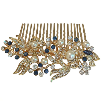 Glam Gatsby Style Comb - Gold