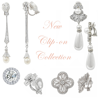 CZ Collection - Vintage Inspired Clip On Collection