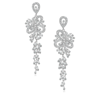 Cubic Zirconia Collection - Crystal Treasure Earrings