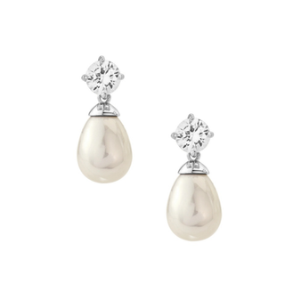 Cubic Zirconia Collection - Timeless Elegance Earrings