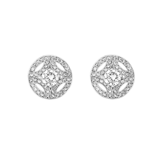 Cubic Zirconia Collection - Meghan Sparkle Earrings