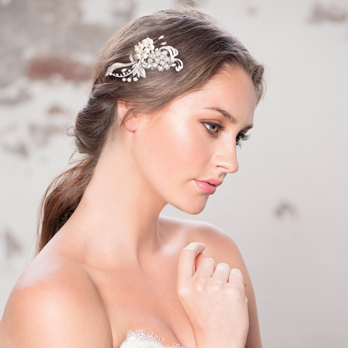 Elite Collection - Crystal Vintage Luxe Headpiece