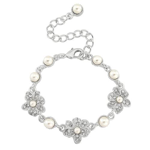 Swarovski and CZ Collection - Vintage Chic Bracelet