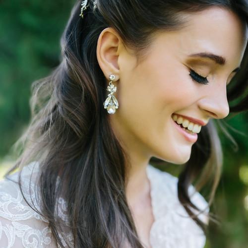 Rhinestone earrings E1763