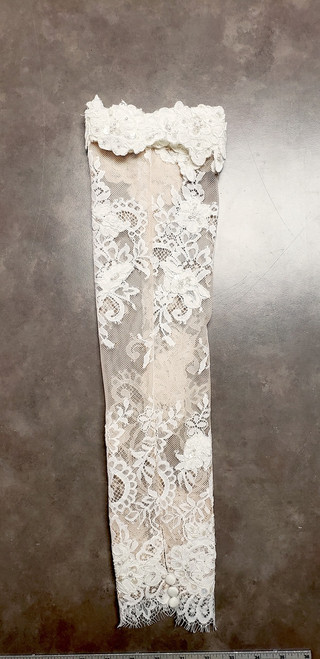 Detachable Chantilly Lace Sleeves (pair) SL001
