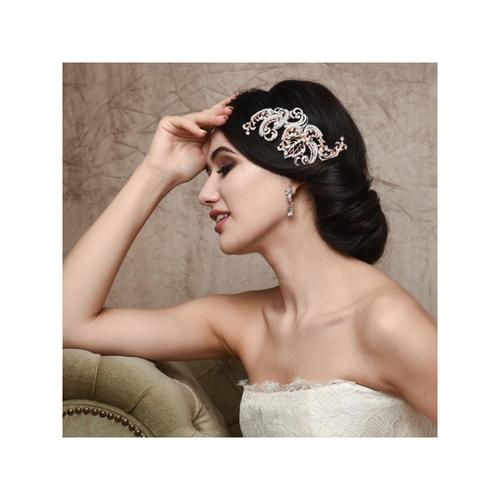 Vintage Extravagance Headpiece - Silver