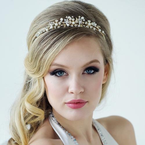 Ellen Tiara - Rose Gold