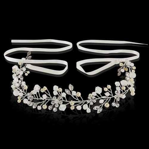Crystal Romance Hair Vine - HP138 Silver