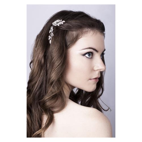 Vintage Dream Small Crystal Bridal Hair Comb - Silver